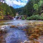 """0236 Lower Falls Lewis River"" by vincentlouis"