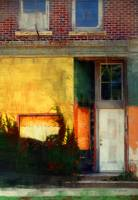 Sunlight Catching Yellow Wall