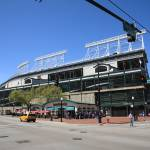 """Wrigley Field - Chicago Cubs"" by Ffooter"