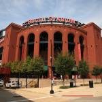 """Busch Stadium - St. Louis Cardinals"" by Ffooter"