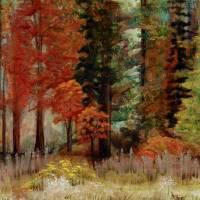 Fall Brights Art Prints & Posters by Christine Jones