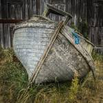 """Old Boat in Blaine-1908"" by CaptureLife"