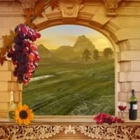 The Vineyard Art Prints & Posters by Anne Vis