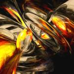 """""""Liquid Chaos Painted Abstract"""" by AlexButler"""