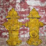 """-Gerry Stecca- fire hydrants family portrait -Gerr"" by GerryStecca"