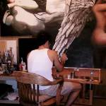"""-Gerry Stecca-painting wings -GerryStecca.com-"" by GerryStecca"