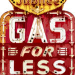 """GAS FOR LESS"" by DavidLloydGlover"