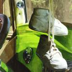 """Cars - Baby Shoes"" by susansartgallery"