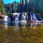"""0238 Lower Falls Lewis River"" by vincentlouis"