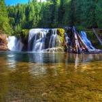 """0240 Lower Falls Lewis River"" by vincentlouis"