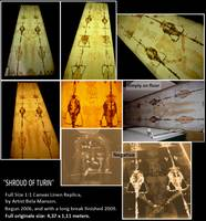 Shroud of Turin Replica