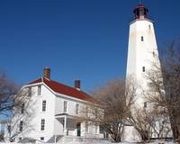 Sandy Hook Lighthouse and Lightkeepers Residence