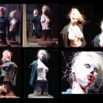 """Zombie-Girl (Sculpture)"" by Bela-Manson"
