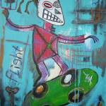 """Untitled (Skater)"" by Bela-Manson"