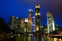 City by Night , Singapore