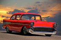 1957 Chevrolet 'Post' Coupe