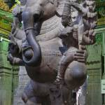 """Ganesha Idol At Meenakshi Temple Madurai INDIA"" by Balu"