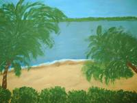 Tropical Beach Scene ll