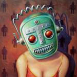 """""""Robot Girl"""" by MarkBryan"""