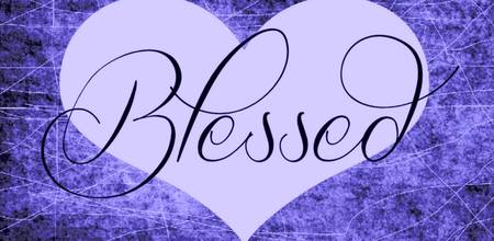 blessed heart purples