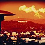 """""""Hollywood From A Distance Border"""" by brookelundy"""