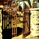"""Rusty Gate"" by JZaringPhoto"