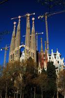 Sagrada Familia in Amazing Light