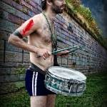 """Drummer With Stonewall"" by JamesHanlon"