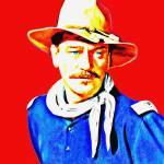 """""""John Wayne in Rio Grande"""" by ArtCinemaGallery"""