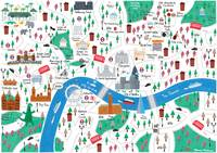 Map of London by Jamie Malone