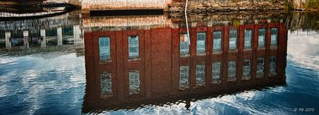 Maine Mill Reflections