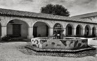 Mission San Miguel Courtyard and Fountain