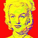 """Marilyn Monroe in Gentlemen Prefer Blondes"" by ArtCinemaGallery"