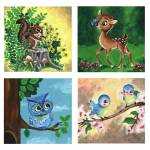 """Woodland Friends Nursery Series"" by lotuspetals"