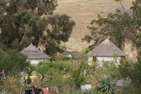 Zulu/Xhosa Huts, South Africa