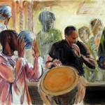 """world music - Les Halles - PARIS"" by jluc"