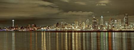 Seattle, All Spread Out at Night