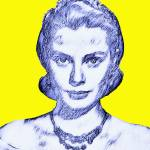 """Grace Kelly"" by ArtCinemaGallery"