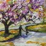 """Spring InThe Parks Cherry Blossom Tree"" by GinetteCallaway"