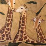 """Giraffe Family"" by rebeccamudd"