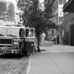 """""""NY Fire in Chelsea"""" by artsimage"""