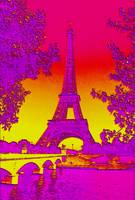 Eiffel Tower Paris France Enhanced 2