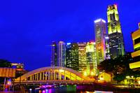 urban landscape Singapore night