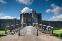 Caerphilly Castle Main Gate