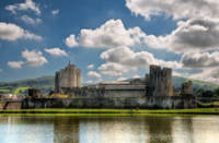 Caerphilly Castle 9