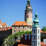 """Castle at Cesky Krumlov"" by mjphoto-graphics"