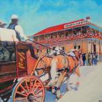"""Old Town San Diego Stagecoach"" by BeaconArtWorksCorporation"