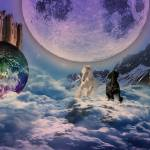 """Running through the moon light"" by MarinaPhotography"