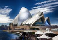 Sydney Opera House (Watercolor)
