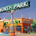 """The North Park Sign San Diego California"" by BeaconArtWorksCorporation"
